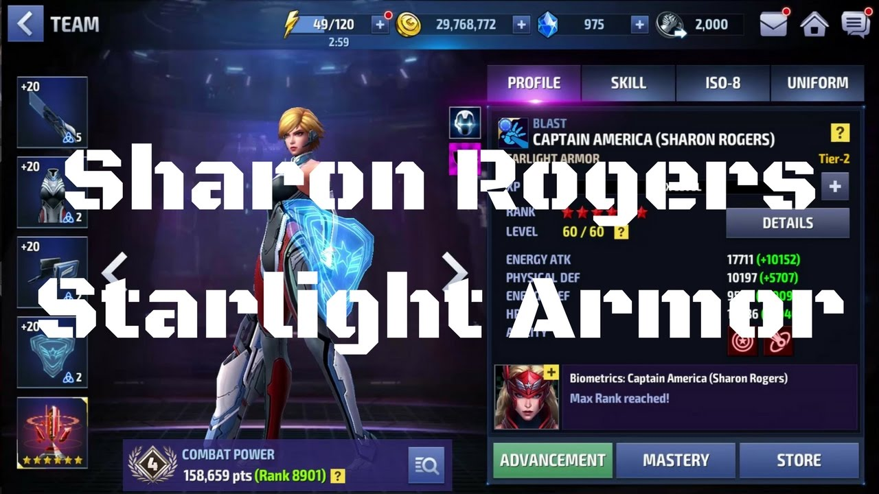 [รีวิว] Sharon Rogers ยู Starlight Armor