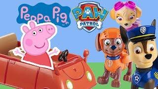 Peppa Wutz und die PAW Patrol auf Reisen | Spielzeug Toys | MeinSpielzeugmarkt