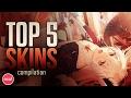 Osu! - Top 5 Skins Compilation