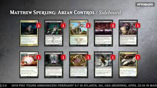Pro Tour Magic Origins Semifinals (Standard): Joel Larsson vs. Matthew Sperling