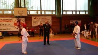 preview picture of video 'Kyokushin-Karate-Mariánské Lázně-25.10.2014'