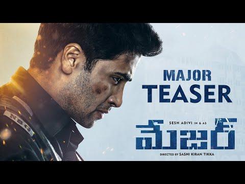 Major Telugu Teaser
