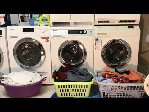 Waschtag Waschmaschine 12.09.2017