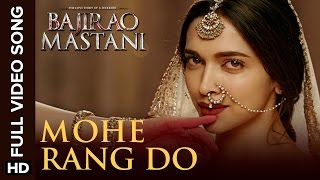 Mohe Rang Do Laal Full Video Song | Bajirao Mastani