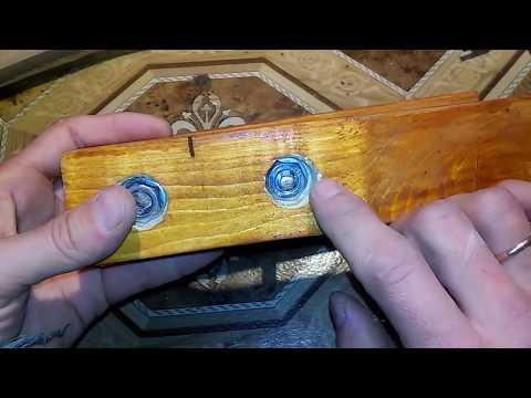 Самодельная струбцина из дерева (своими руками)