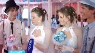 Свадьба в квадрате: сестры-близнецы женились на братьях-погодках, очень похожих друг на друга