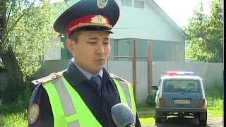 В СКО полицейский Султан Куанышев спас из огня мужчину