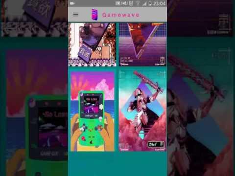 Vídeo do Vaporwave Wallpapers PRO