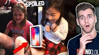 Spoiled Kids Reacting To Expensive Christmas Presents