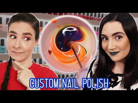 Making Custom Nail Polish Colors feat. Simply Nailogical