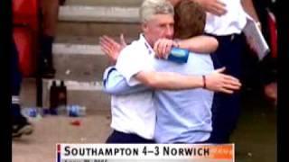 Southampton 4-3 Norwich - Henri Camara Goal