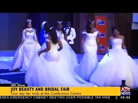 Joy Beauty and Bridal Fair - AM Showbiz on JoyNews (16-7-18)