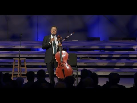 Yo-Yo Ma and James Taylor at Tanglewood