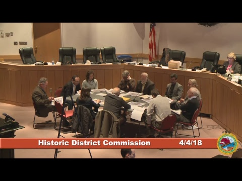 Historic District Commission 4.4.18
