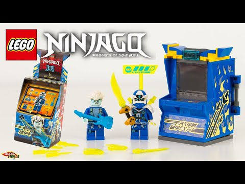 Vidéo LEGO Ninjago 71715 : Avatar Jay - Capsule Arcade