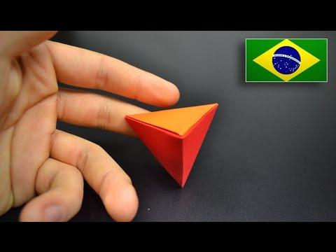 Tetraedro em 3D