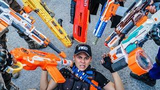 LTT Nerf War : SEAL X Warriors Nerf Guns Fight Criminal Group Dr Mundo Mysterious Prince
