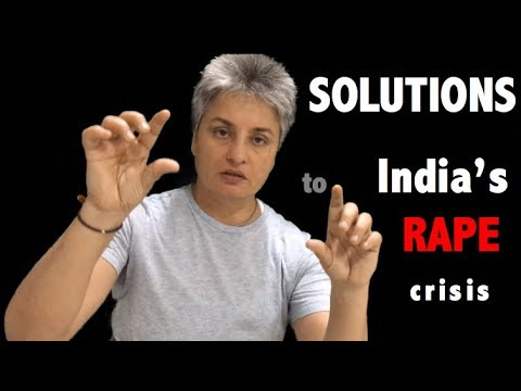 Solutions to India's Rape Crisis