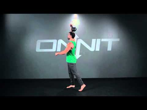 Kettlebell One Arm Rotational Snatch