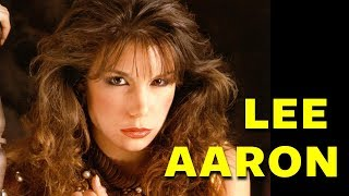 Lee Aaron - Barely Holding On - Power Rock Vocals
