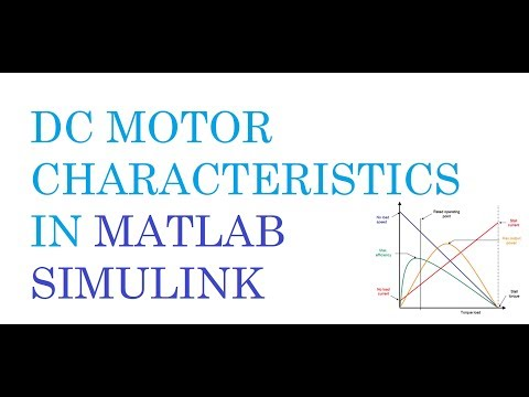 DC Motor Simulation   Electrical Drive   MATLAB SIMULINK - смотреть