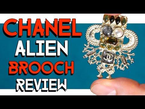 """CHANEL """"ALIEN"""" brooch review"""