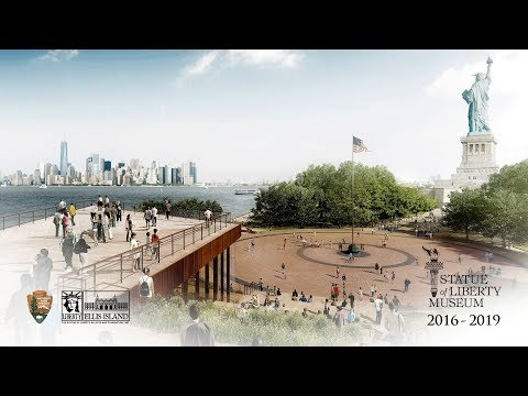 Statue of Liberty Museum Construction Time-Lapse