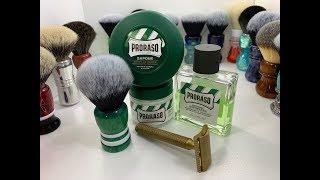 A Proraso Green Shave!!!!!