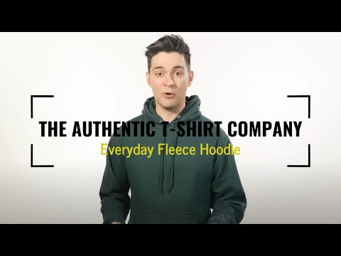 Authentic T-Shirt Company Everyday Fleece Hoodie | Blankshirts.ca