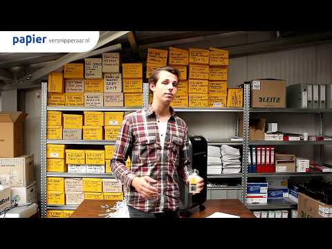 Hoe papierversnipperaar smeren met shredder olie? (How to)