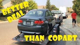 My Bro Stole this BMW 335i from IAAI!  **Way better deal than Copart**