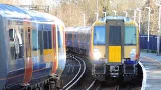 preview picture of video 'Class 458/5s at Staines'