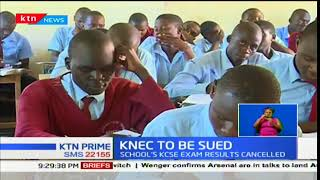 Chebuyusi high school in Kakamega head to court to challenge the cancellation KCSE results