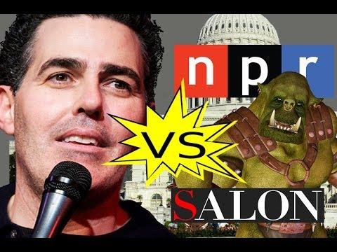 Adam Carolla vs. Patent Trolls, the Government, NPR, Salon
