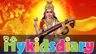 Happy Sarawasthi Pooja & Vijayadashami   Blessing Moments   My Kids Diary