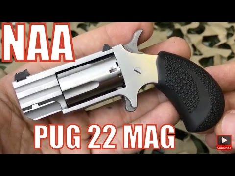 NAA Pug 22 Magnum Pocket Revolver - North American Arms Boot