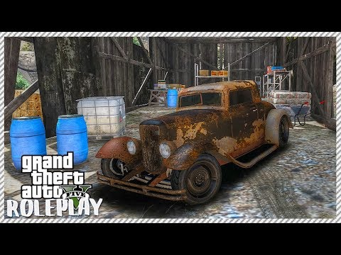 GTA 5 ROLEPLAY - Rusty Old Barn Find | Ep. 127 Civ