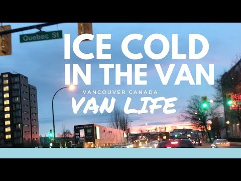 THE VAN IS FREEZING COLD IN THE MORNING | Van Life Canada