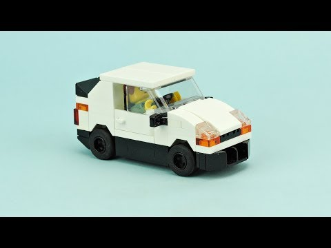 Lego Police Patrol Car Moc Building Instructions