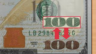 Check if a 100 Dollar Bill Is Real