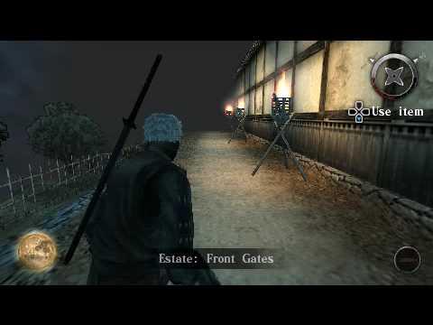 TENCHU: SHADOW ASSASSINS [PSP]
