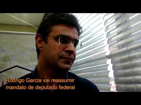 Rodrigo Garcia, Edinho e Geninho Zuliani em evento no gabinete