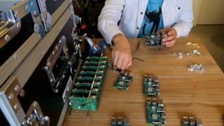 RaspberryPi32台で可搬型クラスタ実験環境を作るスタッキング
