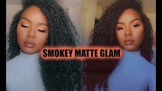 MATTE SMOKEY GLAM
