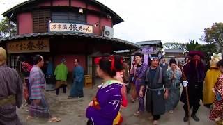 映画『銀魂2掟は破るためにこそある』360度で体験かぶき町篇VR2018年8月17日金公開