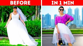 30 FAST DIY CLOTHING AND FASHION IDEAS || Transform Your Outfit In 5 Minutes: Smart Clothes Hacks