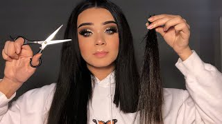 I CUT MY OWN HAIR AND THIS IS WHAT HAPPENED *DISASTER*