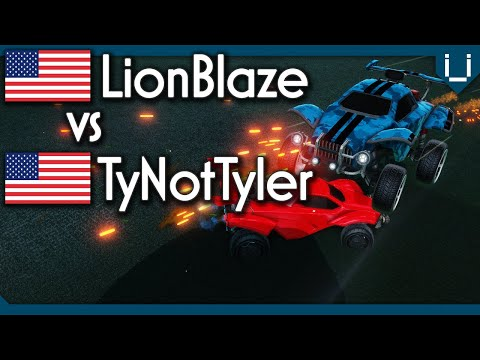 LionBlaze (Rank 1) vs TyNotTyler (Rank 17) | Rocket League 1v1