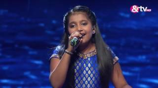 Shreya Basu -  Barso Re  -  Liveshows - Episode 27 - The Voice India Kids