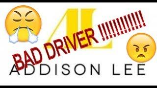 Addison Lee - Driver in a rush - YO17 VHT - Ford Galaxy Black -